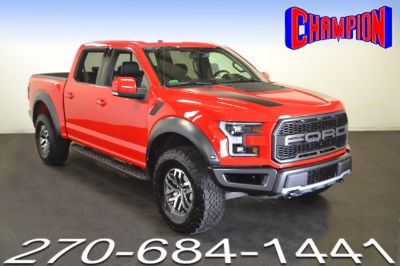2018 Ford F-150 Raptor (Race Red)