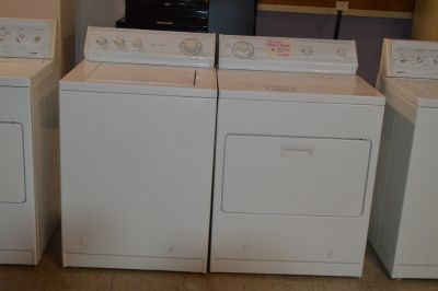 Whirlpool Washer & Dryer with warranty