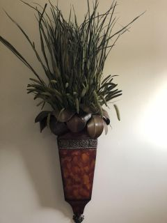 Realistic plant wall Decor from floral design