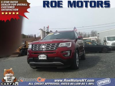 2016 Ford Explorer 4WD 4dr Limited (Ruby Red Metallic Tinted Clearcoat)