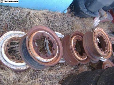 """VW Bus rim wheel 14"""" wide 5 bolt pattern"""