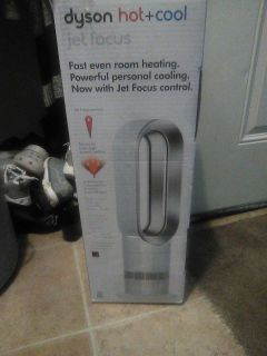 Dyson hot and cold jet focus fan