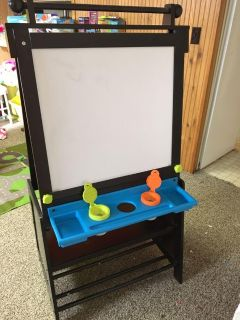 KidKraft double sided easel with storage