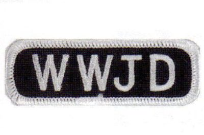 Buy WWJD BIKER VEST PATCH PT413 motorcycle in Fort Myers, Florida, United States
