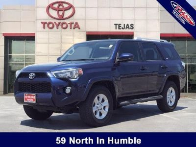 2016 Toyota 4Runner Limited (Nautical Blue Pearl)