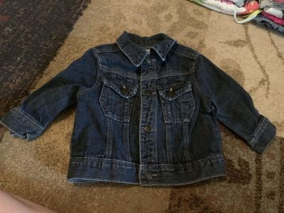 Genuine kids 12m Jean jacket - ppu (near old chemstrand & 29) or PU @ the Marcus Pointe Thrift Store (on W st)