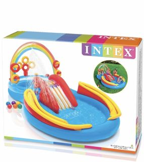 Inflatable pool/play center