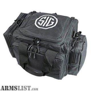 For Sale: BLACK FRIDAY Sig Sauer Pistol Range Bag Black