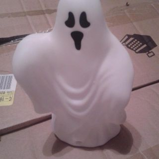 Motion detector ghost that makes sound