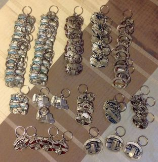 61 Brand New Profession Key Chains ~ GREAT RESELL LOT