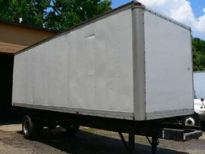 24' used truck body for mounting