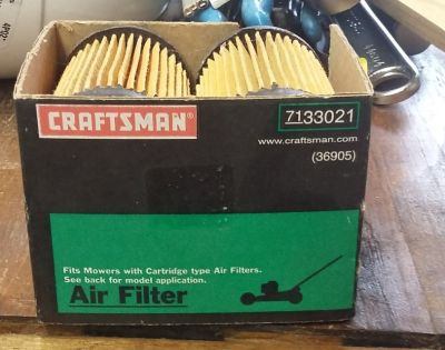NEW Craftsman #33021 Lawn Mower Air Filter