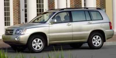2001 Toyota Highlander Base (Silver)