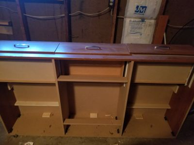 Need gone tonight! Moving sale! Captains bed frame no holds! Must pick up!