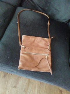 Brown crossover purse in great condition