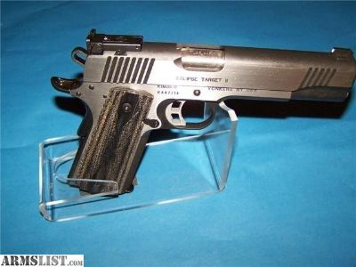 For Sale: KIMBER ECLIPSE TARGET II 45ACP 1911