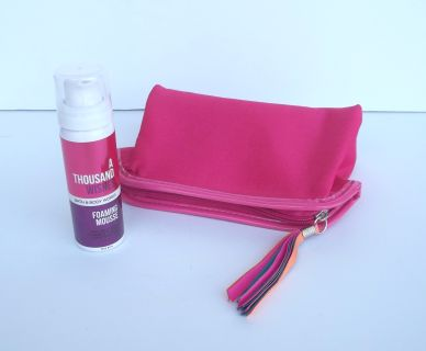 Brand New Make-Up Bag & B&BW Foaming Mousse