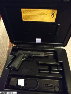 For Sale/Trade: BROWNING 1911-380 BLACK LABEL