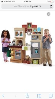 ISO play kitchen good to excellent condition