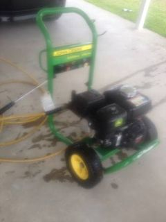 John Deere 3300 psi pressure washer