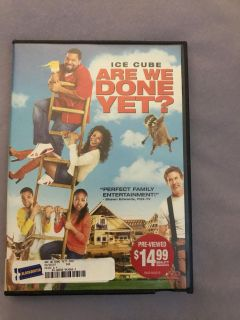 Are we done yet dvd