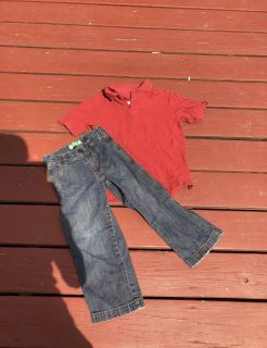 Boys cute 5T/XS outfit old navy ((MOVING SALE))