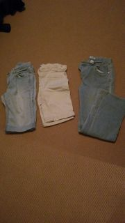 Mid lenght pants and jeans