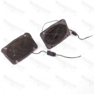 "Purchase Corvette OEM Radio Front Dashboard 4"" x 6"" Speaker Pair CORES w/ Plugs 1970-1977 motorcycle in Livermore, California, United States, for US $44.99"