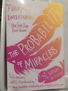 Paperback book: The Probability of Miracles by Wendy Wunder