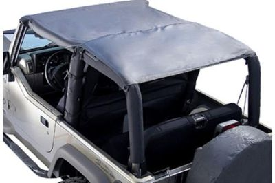 Find Rugged Ridge 13581.35 - 97-06 Jeep Wrangler Black Diamond Island Topper Soft Top motorcycle in Suwanee, Georgia, US, for US $84.37