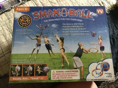 Smak Ball. New in box. Would make a great gift