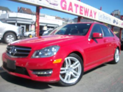 2014 Mercedes-Benz C-Class C300 4MATIC Luxury (Mars Red)
