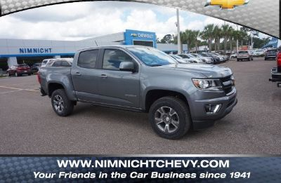 2018 Chevrolet Colorado 4WD Z71 (Satin Steel Metallic)