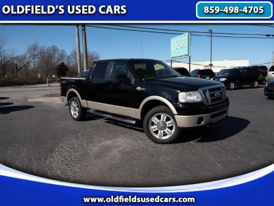 2008 Ford F150 4x4 SuperCrew King Ranch