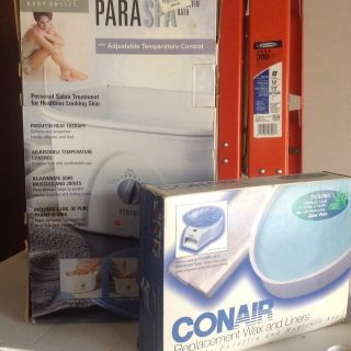 New Con air Spa unit with wax.