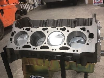 COMPLETE B.B. CHEVROLET 496 SHORT BLOCK