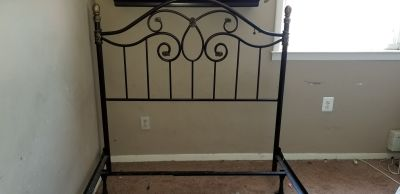 Raymour and Flanagan..Headboard Footboard and Frame..Full