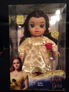 Brand New Beauty And The Beast Baby Belle Doll