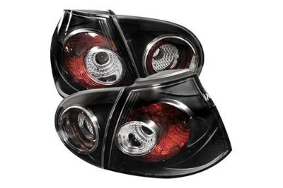 Find Spyder VG03 Volkswagen Golf Black Euro Tail Lights Rear Stop Lamps 2 Pcs 1 Pair motorcycle in Rowland Heights, California, US, for US $145.56