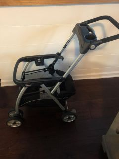 Chicco click tight car seat, base, and stroller