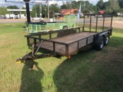 16ft Tandem Axle Pipe Top Utility