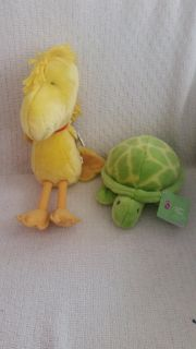 2 Kohl's stuffed animals. Woodstock and turtle. Both with tags and like new. 1 for $4 or both for $5