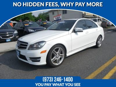 2014 Mercedes-Benz C-Class C300 4MATIC Luxury (Diamond White Metallic)