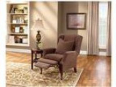 Sure Fit Stretch Pique Wing Recliner Slipcover Chocolate