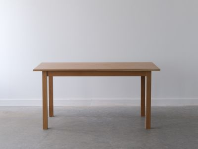 Parsons Style Table - Solid White oak