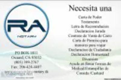 Notary Public Oxnard CA