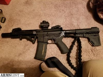 For Sale/Trade: Ar15 pistol with trijicon mro