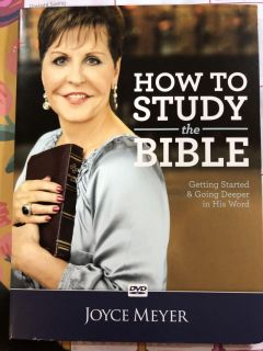 How to study the Bible with Joyce Meyer DVD