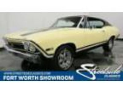 1968 Chevrolet Chevelle SS 396 #'s Matching 396, Real SS, Factory Colors