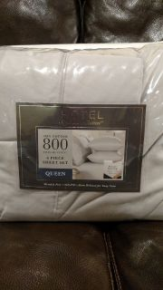 New Queen Size 800 Thread Count 6 piece Sheet Set